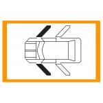 Alzavetro sinistro-destro anteriore per 4 porte
