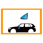 Vetro laterale auto CITROEN C8 MPV 02- FA SX VR SEKURISOL INCAPSULATO  - Vetro Fisso Anteriore