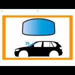 Parabrezza Auto JAGUAR XE 4P BERL 15- PARABREZZA VR SUPSEN LUCI-PIOG-APP FINESTRA VIN...