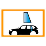 Vetro laterale auto FIAT TALENTO -LWB VAN-2P CABIN-FAMILY VAN 16- FA DX VR SEKURISOL...