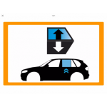 Vetro laterale auto HYUNDAI KONA SUV 5 PORTE 17- SCEND. POST. SX VR ACCESSORI  -...