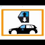 Vetro laterale auto JAGUAR E-PACE SUV 5 PORTE 18- SCEND. ANT. DX VR SEKURISOL 2 FORI  -...