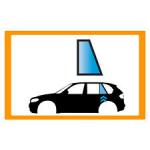 Vetro laterale auto VOLKSWAGEN T-ROC SUV 5 PORTE 17- FISSO POST. SXGRIGIO VENUS...