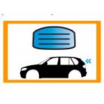 AUDI E-TRON SUV 5 PORTE 19- LUNOTTO VR RISCALDATO SEKURISOL ANTENNA ACCESSORI ALLARME SERIGRAFIA 1 FORO