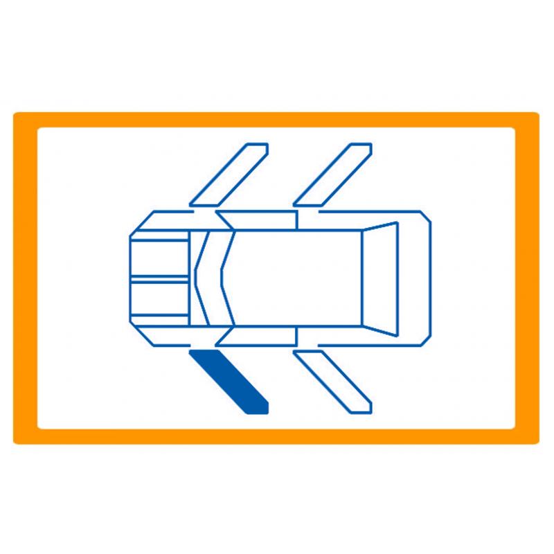 Alzavetro auto  porta Anteriore lato  SINISTRO per  Citroen BX (1/1987)