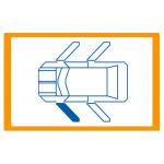 Alzavetro auto  porta Anteriore lato  SINISTRO per  Citroen C1 (4/2014) Solo meccanismo per motori originali a 2 contatti / Mech