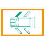 Alzavetro auto  porta Anteriore lato  DESTRO per  Volkswagen Vento (9/19918/1997) Con funzione comfort / With comfort function /