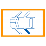 Alzavetro auto  porta Posteriore lato  SINISTRO per  Kia Soul (2008) Solo meccanismo per motori originali a 2 contatti / Mechani