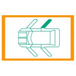 Alzavetro auto  porta Posteriore lato  DESTRO per  Volkswagen Vento (9/19918/1997) Con funzione comfort / With comfort function