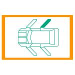 Alzavetro auto  porta Posteriore lato  DESTRO per  Citroen C3 Picasso (12/2008) Solo meccanismo per motori originali con elettro
