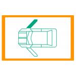 Alzavetro auto  porta  lato  DESTRO per  Volkswagen Beetle (199810/2011) Solo meccanismo per motori originali con elettronica /