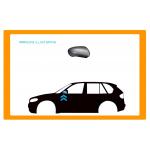 CALOTTA RETROVISORE DESTRO NERA PICCOLA per SEAT - IBIZA - CORDOBA - Mod. 09/99 - 05/02
