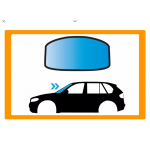 FIAT 124 SPYDER 2D CAB 2016-PARABREZZA VERDE FINES