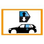 Vetro laterale auto HYUNDAI KONA SUV 5 PORTE 17- SCEND POSTDX GRIGIO VENUS ACCESSORI  -...